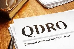 Arlington Heights divorce attorney QDRO